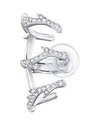 Swarovski - Metallic Grace Ear Cuff - Lyst