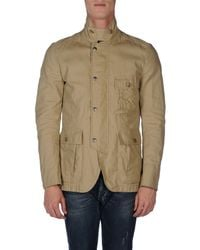 Fay - Natural Jacket for Men - Lyst
