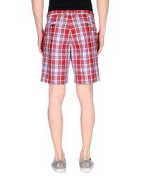 Ben Sherman - Red Bermuda Shorts for Men - Lyst
