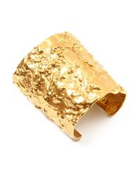 Ben-Amun | Metallic Foiled Gold Cuff | Lyst