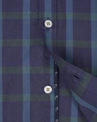 Ted Baker | Green Checked Shirt for Men | Lyst