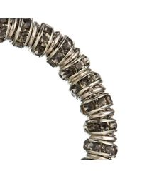 John Lewis - Metallic Glass Crystal Link Chain Bracelet - Lyst