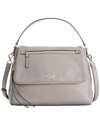 kate spade new york | Gray Cobble Hill Toddy Convertible Crossbody | Lyst