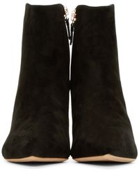 Sophia Webster | Black Suede Coco Ankle Boots | Lyst