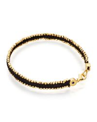 Astley Clarke | Black Walk On The Wild Side Nugget Bracelet | Lyst