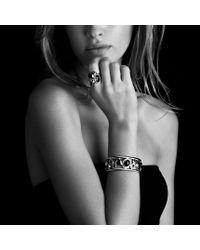David Yurman - Brown Mosaic Ring with Cinnamon Quartz Citrine and Diamonds and Gold - Lyst