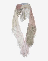 Mignonne Gavigan - Natural Petite Marcel Beaded Fringe Necklace - Lyst