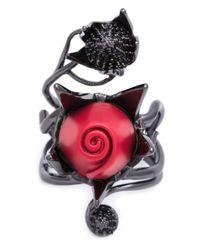 Eddie Borgo | Red 'climbing Rose' Ring | Lyst