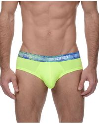 2xist - Green 2(x)ist Men's Tropic No-show Briefs for Men - Lyst