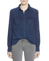 Joe's Jeans | Blue 'collector's - Leigh' Denim Shirt | Lyst