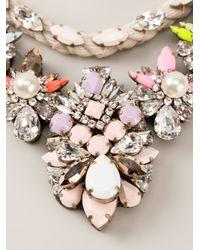 Shourouk | Multicolor 'river Absinthe' Necklace | Lyst