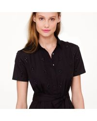 J.Crew | Black Collection Thomas Mason For Shirtdress | Lyst