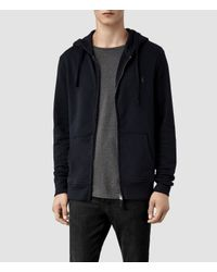 AllSaints | Blue Wilde Hoody for Men | Lyst