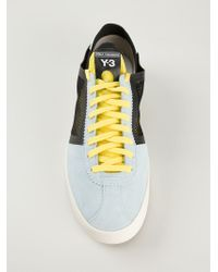3e29fd395f0bf Y-3  lazelle  Sneakers in Blue for Men - Lyst