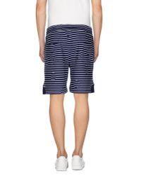 KENZO - Blue Bermuda Shorts for Men - Lyst