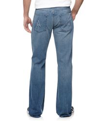 7 For All Mankind | Blue Straightleg Apocket Jeans for Men | Lyst