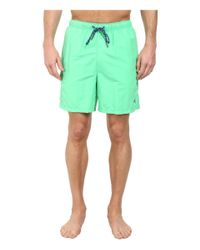 "Tommy Bahama - Green The Naples Happy Go Cargo 6"" Swim Trunks for Men - Lyst"