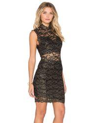 Nightcap - Black Metallic Dixie Lace Dress - Lyst