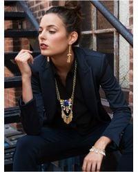 BaubleBar - Metallic Gold Tassel Necklace - Lyst