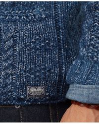 Denim & Supply Ralph Lauren | Blue Discharge-Print Crewneck for Men | Lyst