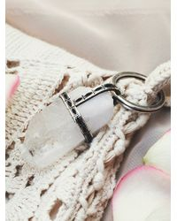 Free People | Metallic Protection Amulet Key Ring | Lyst