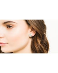 John Hardy | Metallic Legends Naga Button Earrings | Lyst