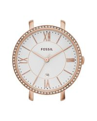 Fossil - Metallic 'jacqueline' Crystal Watch Case - Lyst