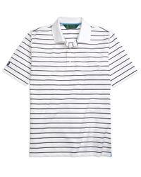 Brooks Brothers | White St. Andrews Links Stripe Golf Polo Shirt for Men | Lyst