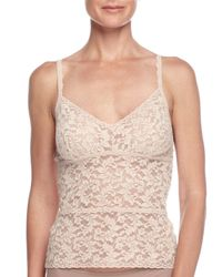 Hanky Panky | Natural Retro Lace Cami | Lyst