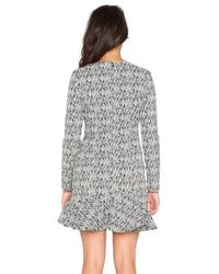 Lucca Couture | Black Fit And Flare Dress | Lyst
