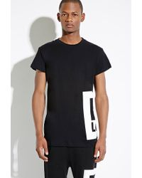 Forever 21 | Black Boy London Box Logo Tee for Men | Lyst