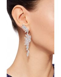 AS29 - Metallic Bamboo Xl Long Earrings - Lyst
