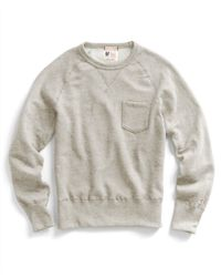 Todd Snyder   Natural Pocket Sweatshirt In Oatmeal for Men   Lyst