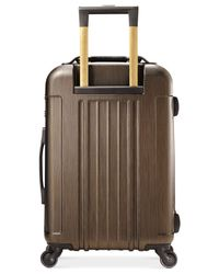 "Hartmann - Metallic Closeout! 50% Off Modern Vigor 22"" Carry On Hardside Spinner Suitcase - Lyst"