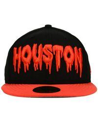 KTZ | Black Houston Astros Team Trill 59fifty Cap for Men | Lyst