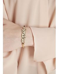 Marc By Marc Jacobs | Natural Cream Enamel Bracelet | Lyst