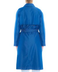 M.i.h Jeans - Blue Carmel Trench Coat - Lyst