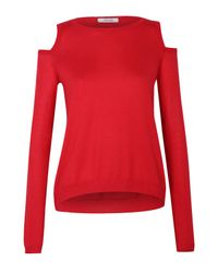 Dorothee Schumacher - Red Plainly Beauty Pullover O-neck 1/1 - Lyst