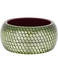 Lanvin | Green Orion Bangle | Lyst