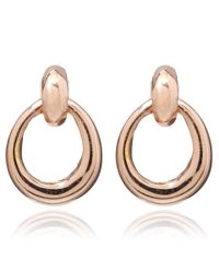 Dinny Hall | Pink Rose Gold Vermeil Toro Stud Earrings | Lyst