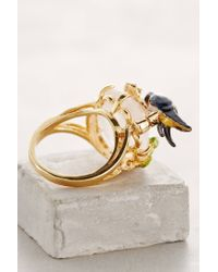 Les Nereides | Metallic Aves Ring | Lyst