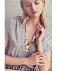 Anthropologie | Metallic Mystic Desert Necklace | Lyst