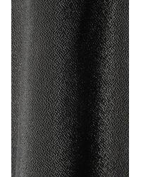 Alexander Wang - Black Textured Crepe Top - Lyst