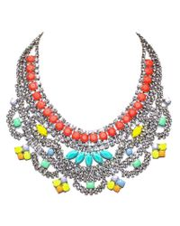 Tom Binns | Multicolor 'soft Power' Bib Necklace | Lyst