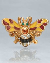 Jay Strongwater | Multicolor Nigel Bumble Bee Pin | Lyst