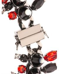 Givenchy | Red Onyx, Crystal & Mother-Of-Pearl Necklace | Lyst
