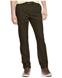 American Rag | Brown Chino Pants for Men | Lyst