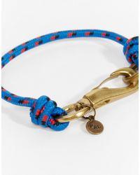Polo Ralph Lauren | Blue Rope Bracelet for Men | Lyst