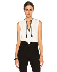 Ulla Johnson | White Layla Top | Lyst