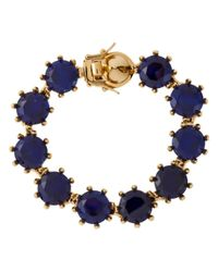 Eddie Borgo | Blue Crystal Bracelet | Lyst